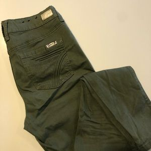 NWOT Seven7 Army Green Skinny Stretch Jeans